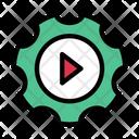 Video Setting Editing Icon