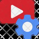 Video Setting Setting Control Icon