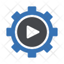 Video Play Setting Icon