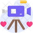 Video Shooting Wedding Shooting Marriage Shooting Icon