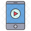 Video Play Mobile Icon