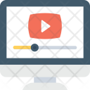 Video Streaming Online Icon