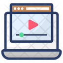 Video Blogs Digital Marketing Video Streaming Icon