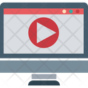 Video Streaming Video Player Media Player Icon