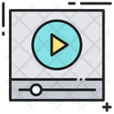 Video Streaming Online Video Film Icon