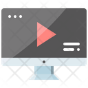 Streaming Service Video Icon