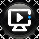Media Monitor Video Icon