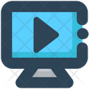 Media Monitor Video Icon