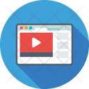 Video Streaming Buffering Icon
