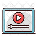 Video Streaming Video Player Music Application Icon