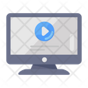 Video Streaming Video Presentation Live Streaming Icon