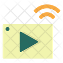 Video Streaming Sharing Streaming Icon