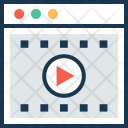 Streaming Video Player Icon