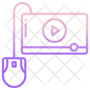 Video Streaming Online Video Video Player Icon