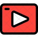 Streaming Network Internet Icon