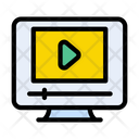 Video Streaming Online Video Video Playing Icon