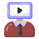 Video Streaming Online Video Video Chat Icon