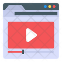 Web Video Video Streaming Online Video Icon