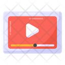 Online Video Video Streaming Online Streaming Icon