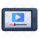 Online Streaming Video Streaming Online Video Icon