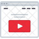 Video Streaming Website Video Streaming Icon