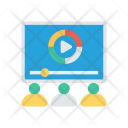 Video Study Icon