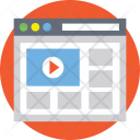 Video Template Social Icon
