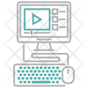 Video Tutorial Lessons Icon