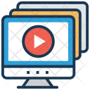 Video Tutorial Online Icon