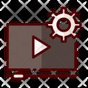Video Tutorial Learnig Video Teaching Video Icon