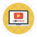 Video Player Tutorial Icon