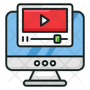 Video Tutorial Video Guide Video Lesson Icon
