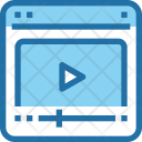 Video Tutorial Player Icon