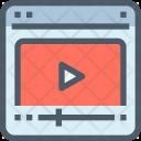 Video Tutorial Website Icon