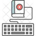 Video Tutorial Distance Learning Icon