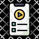 Video Tutorial Video Lesson Video Lecture Icon