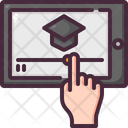 Digital Learning Online Learning Study Icon