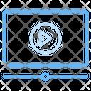 Video Tutorial Video Lesson Education Icon