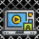 Video Tutorial Online Tutorial Education Icon