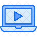 Video Tutorial Online Video Learning Video Learning Icon