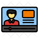 Video Tutorial Online Education Video Lecture Icon