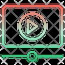 Video Tutorial Online Tutorial Video Lesson Icon