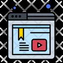 Video Tutorial Tutorials Online Video Icon