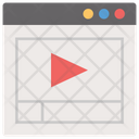Video Tutorial Online Video Video Lesson Icon