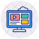 Video Tutorials Tutorials Video Lesson Icon