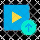 Upload Video Upload Uploading Icon