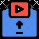 Video Upload Player Upload Icon