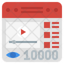 Video Viewer Icon