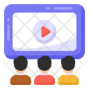 Video Watching Online Video Video Streaming Icon