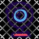 Video Webcam Icon